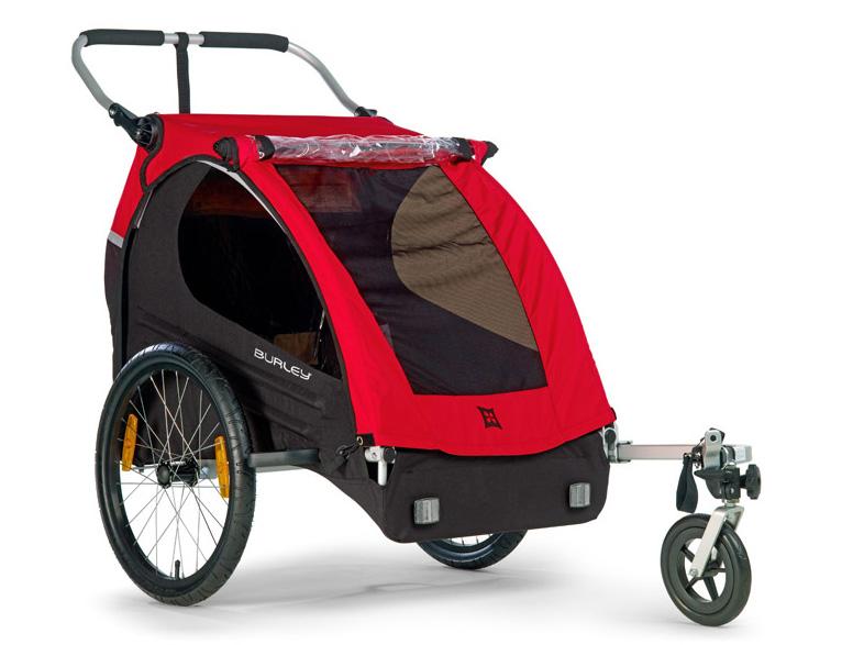 Детский велотрейлер1